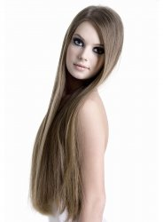 #10 Light Brown, 30 cm, Double drawn Tape Extensions