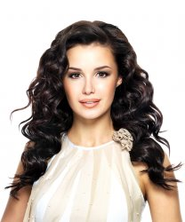 #1B Black Brown, 60 cm, Double drawn Tape Extensions