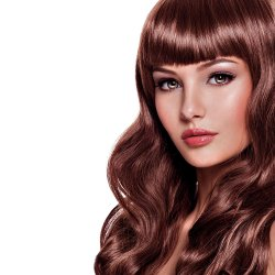 #33 Mahogany Brown, 50 cm, Double drawn Tape Extensions