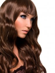 #6 Medium Brown, 60 cm, Tape Extensions
