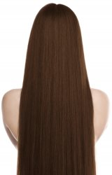 #6 Medium Brown, 50 cm, Tape Extensions